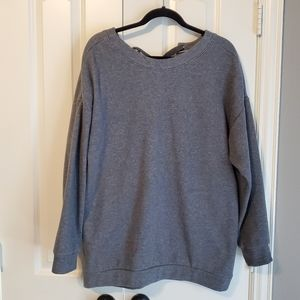 Fabletics Sweatshirt with lace-up detail